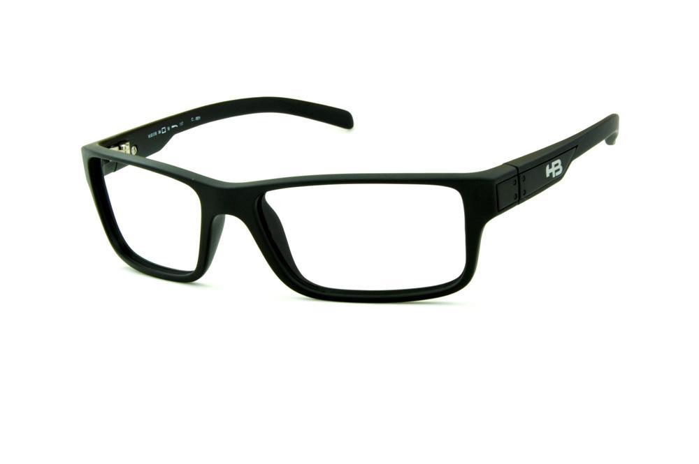Óculos HB M93 018 Matte Black Polytech preto fosco ab8580938f