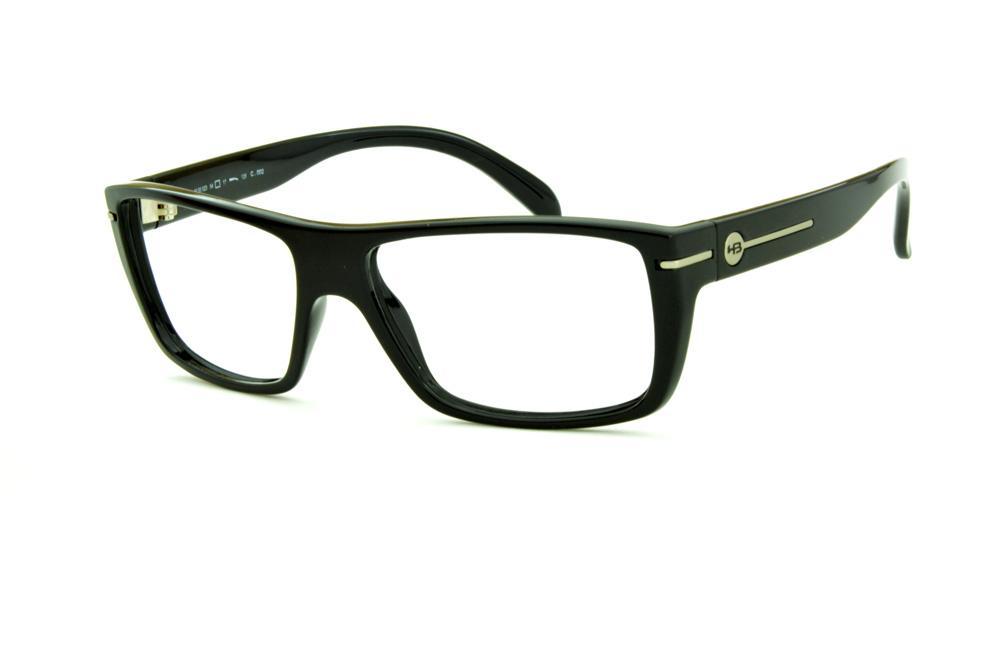 Óculos HB M93 023 Gloss Black Polytech preto brilhante 7aec60b928
