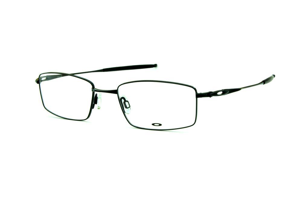 c1db641ea733d Óculos Oakley OX3136 Polished Black metal ponteira emborrachada