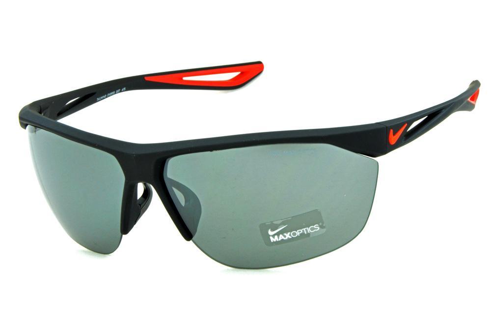 1b42c99f8 Óculos de Sol Nike Tailwind EV0915 Preto fosco / lente semi espelhada
