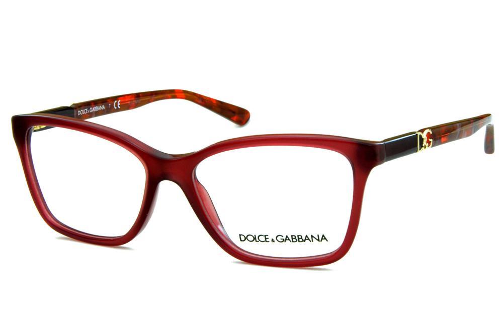 863d75f93 Óculos Dolce & Gabbana DG3153P Rosê hastes em cores mescladas