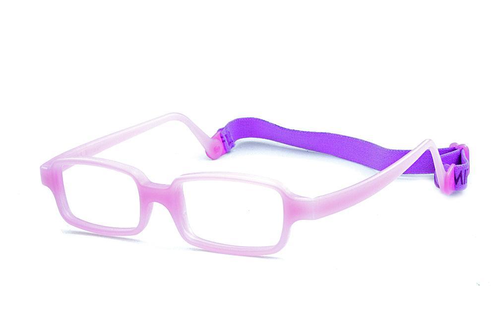 fcde70638 Óculos Miraflex Siliconado INQUEBRÁVEL Baby Lux 2 42/14 Lilas