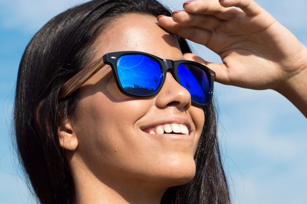 0cd43c6c1 Lente de Grau Acrílica Espelhada Azul Pacific