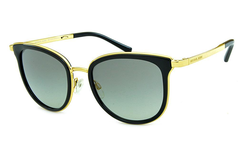 e679afebb1c8f Óculos de Sol Michael Kors MK1010 Adrianna 1 Dourado e preto