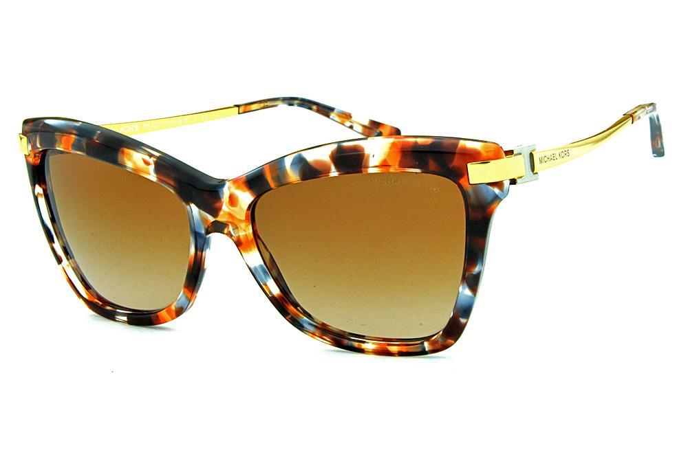 c3ff891092a4f Óculos de Sol Michael Kors MK2027 Audrina 3 Marrom mesclado
