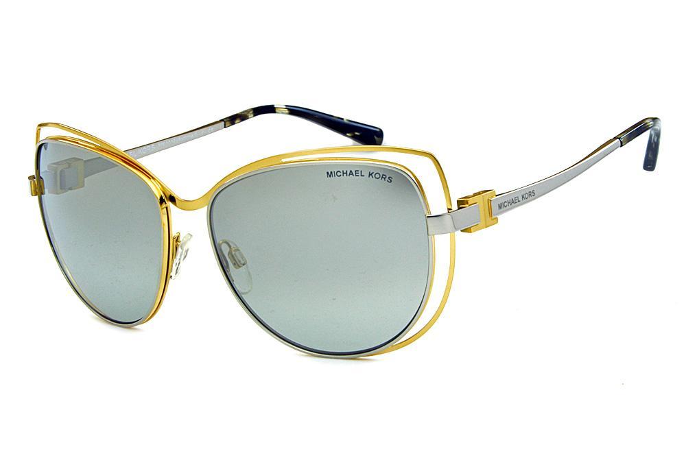 Óculos de Sol Michael Kors MK1013 Audrina1 Metal dourado e prata 2c018a6423