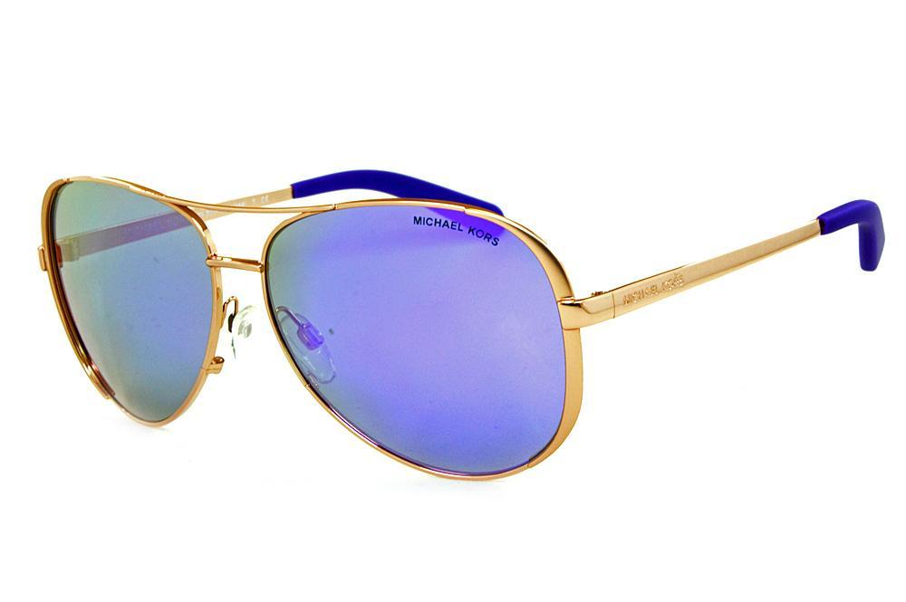 56f4ccda88f17 Óculos de Sol Michael Kors MK5004 Chelsea Bronze lentes espelhadas