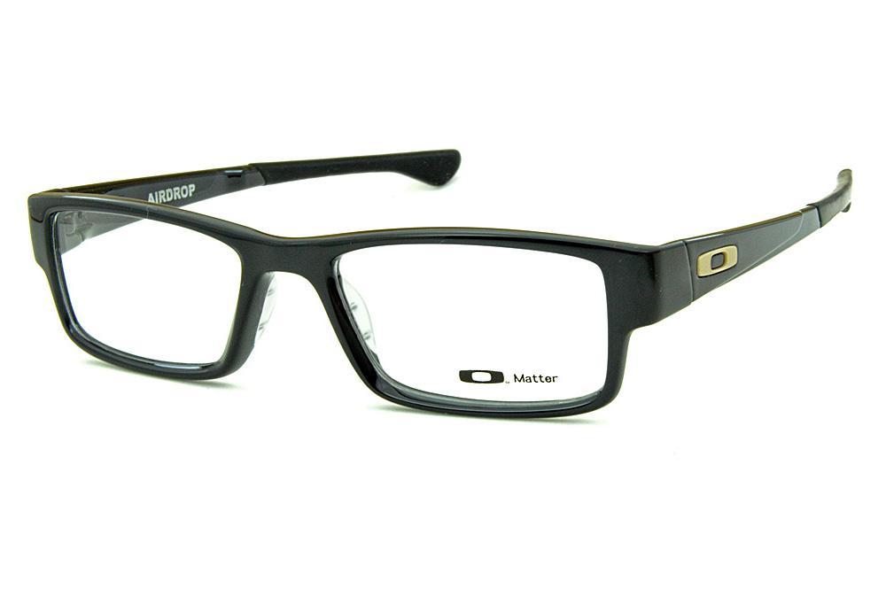 70850e949540e Óculos Oakley OX8046L Airdrop Acetato preto brilhante