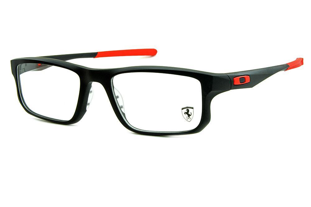 Óculos Oakley OX8049 Voltage Satin Black 55 preto fosco Edição Ferrari 0e718790a0