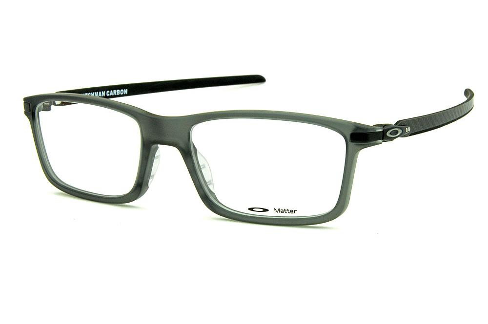 Óculos Oakley OX8092 Pitchman Carbon Grey Smoke acetato cinza fosco 982892b562