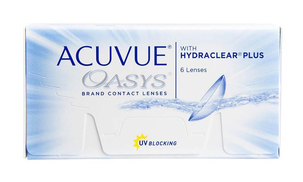 Lente de contato Acuvue Oasys Hydraclear PLUS 6 lentes esférico -1,50 dd84c83575
