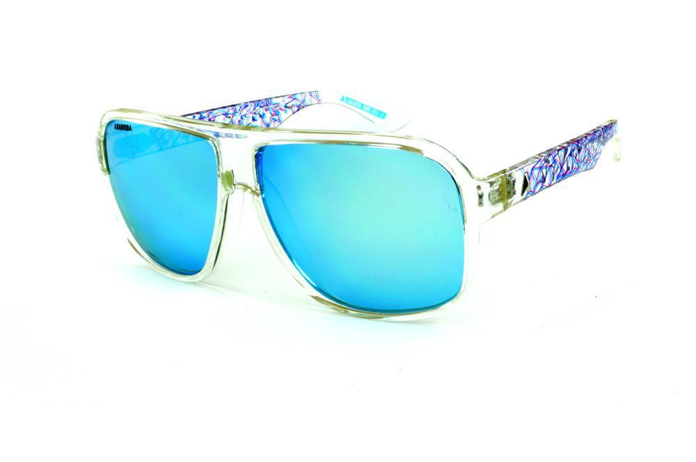 9389eb49f Óculos Absurda Calixto transparente lente azul espelhado