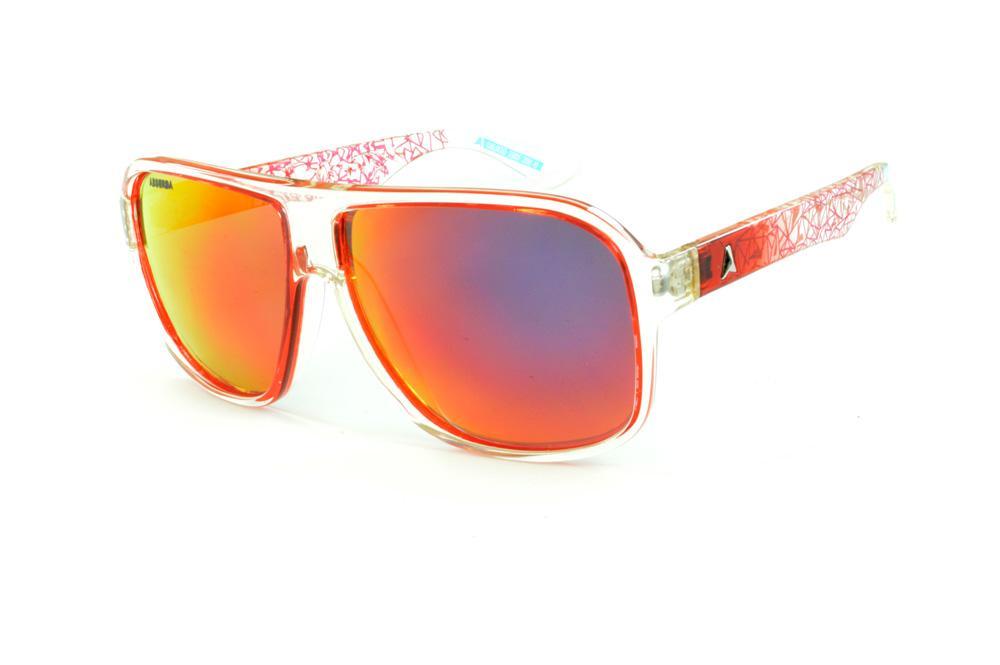 Óculos Absurda Calixto vermelho transparente e lente amarela vermelha a5fd66d5e4