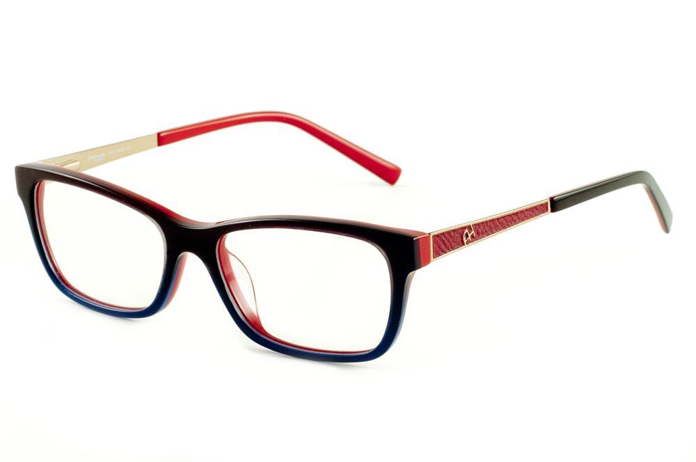 7d7e8038d944f Óculos Ana Hickmann AH6218 preto e vermelho