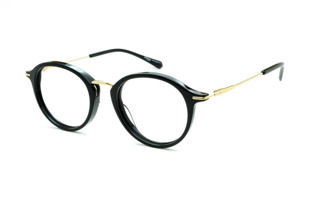 cbf13ac58ea1f Óculos Ana Hickmann HI6019 preto haste metal dourada