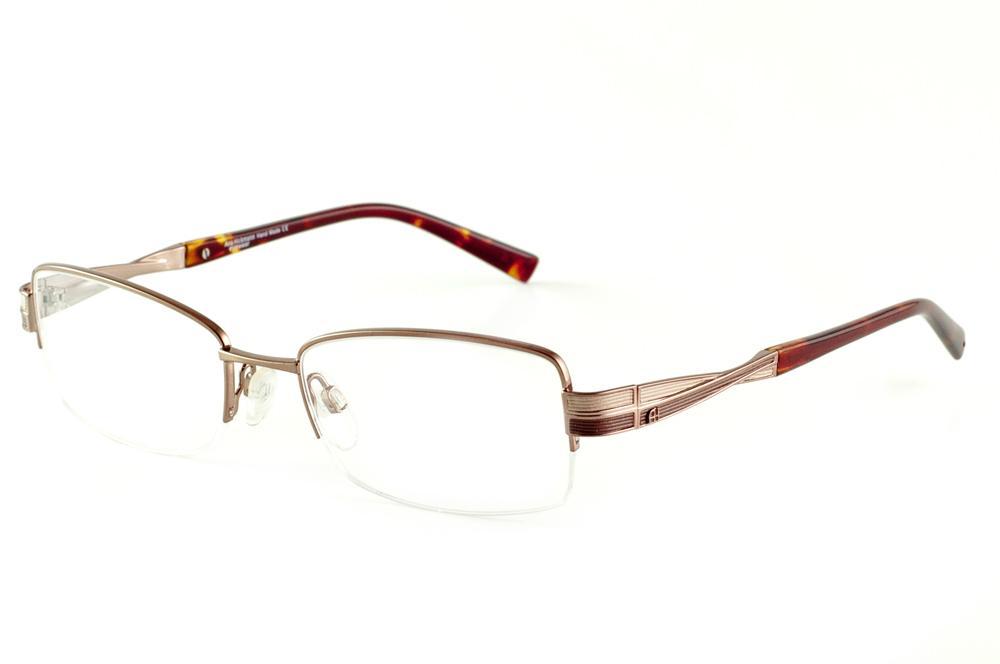 abb2a82f76ca2 Óculos Ana Hickmann AH1256 bronze fio de nylon