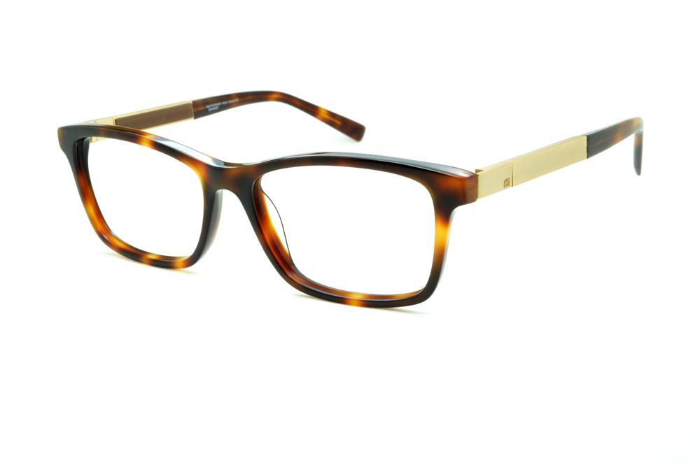 Óculos Ana Hickmann AH6234 demi tartaruga efeito onça com haste giratória  dourada marrom 3b6868bd72