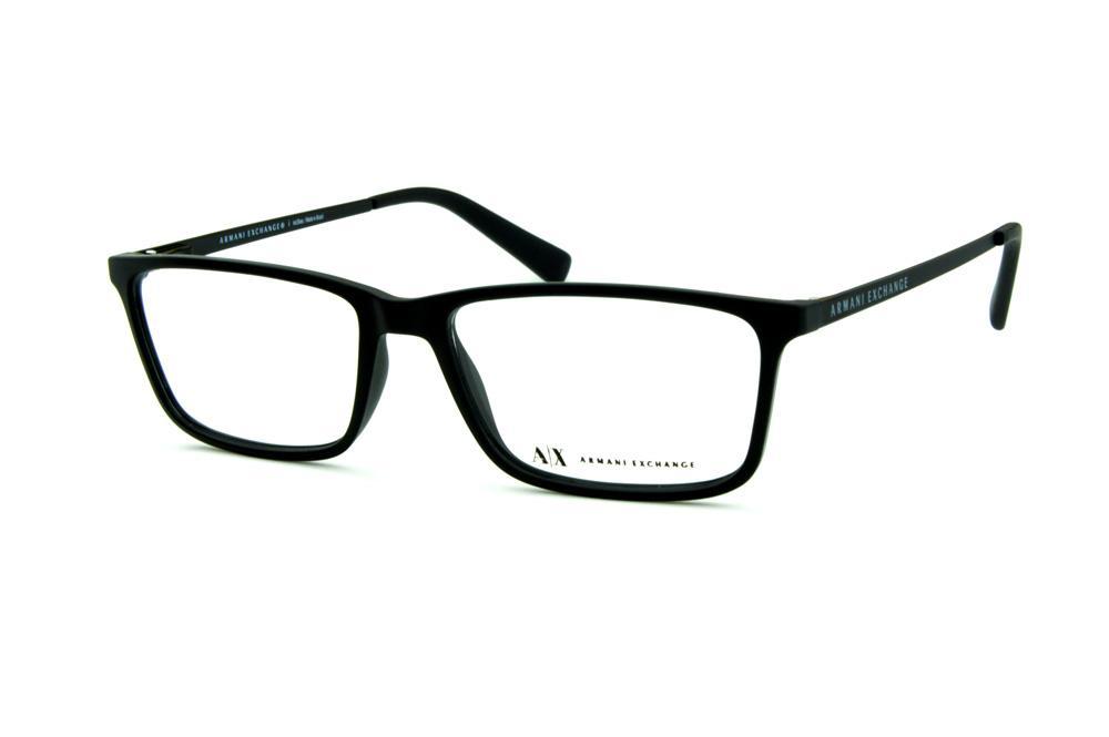 3a6d81b602921 Óculos Armani Exchange AX 3027 preto fosco