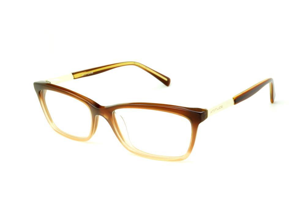 55e86561426d8 Óculos Atitude At6116 caramelo mesclado e detalhe palha