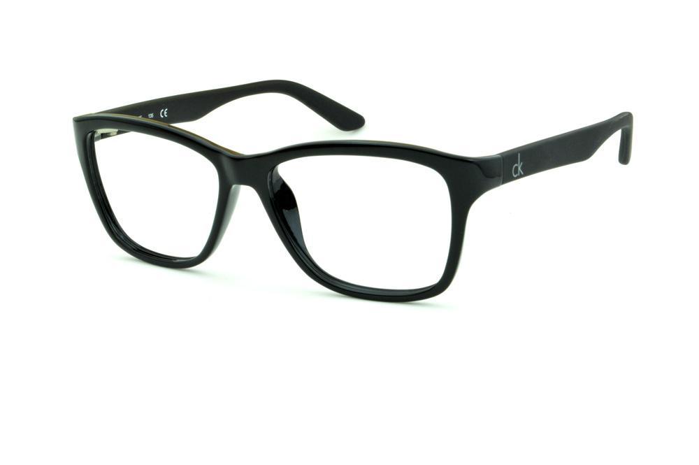 081555e70d166 Óculos Calvin Klein CK 5827 Preto brilhante haste preta fosca