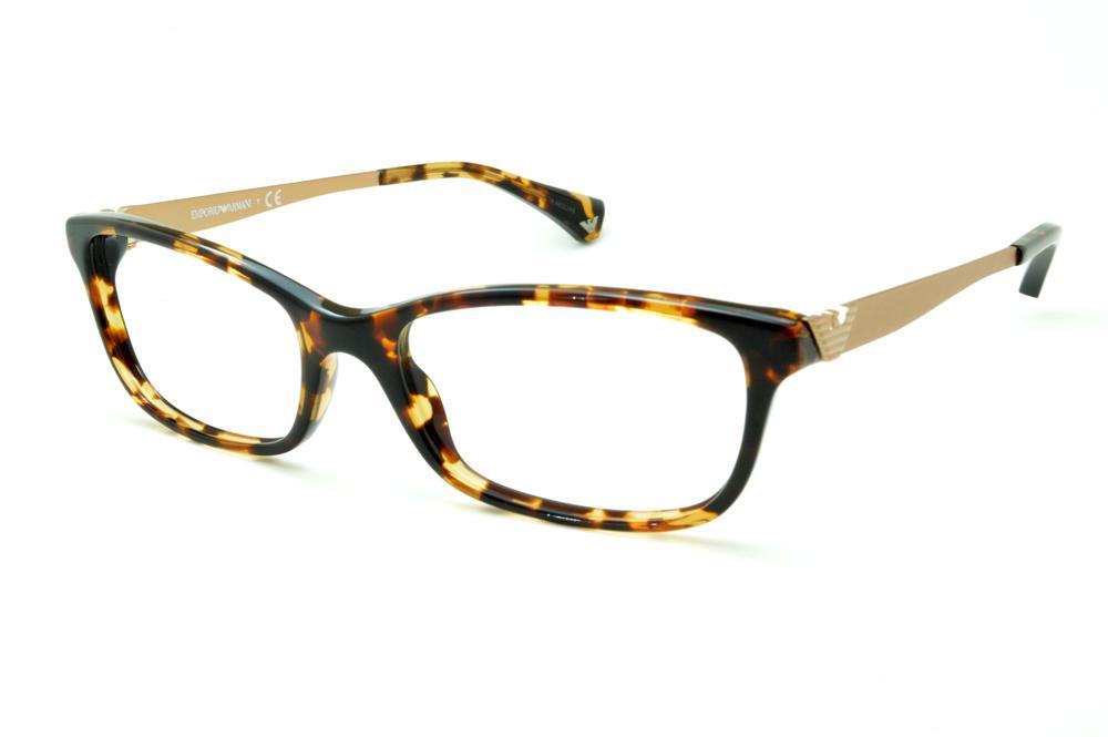 fb77383f86b9b Óculos Emporio Armani EA3031 tartaruga efeito onça haste metal
