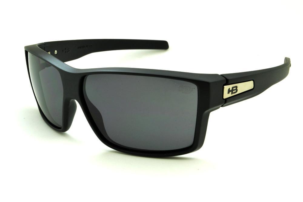 190622e1b Óculos HB Big Vert Matte Black preto fosco lente cinza