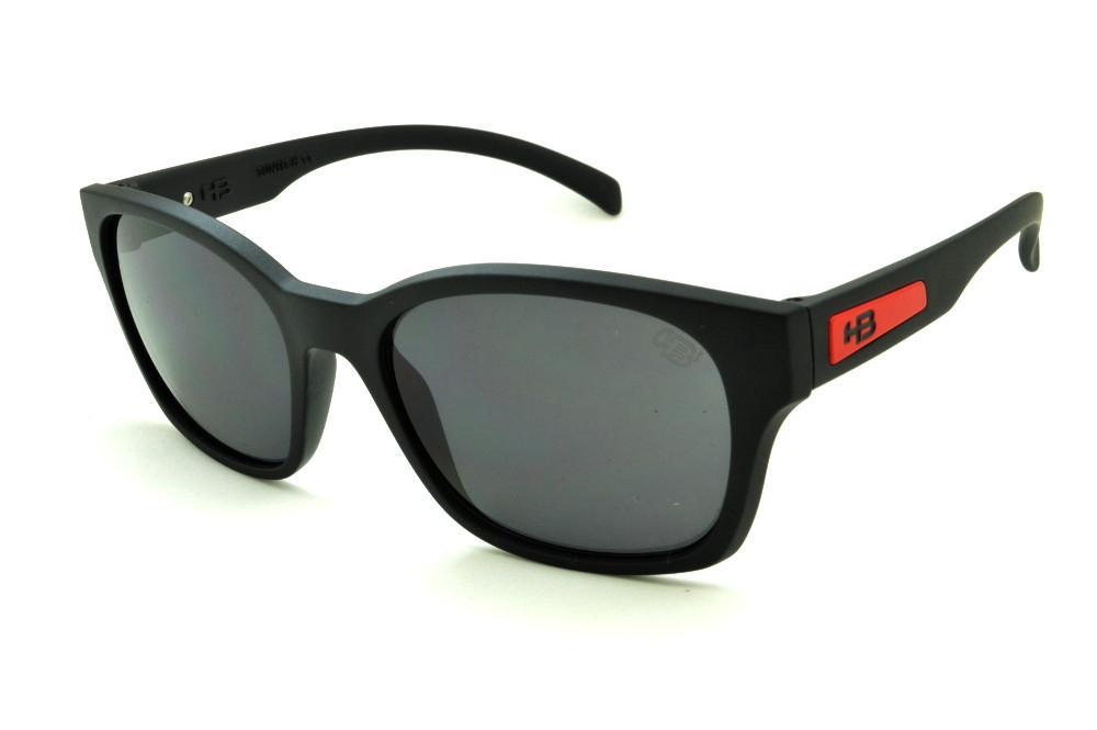 d746940be4867 Óculos HB Drifta Matte Black Red preto fosco detalhe vermelho