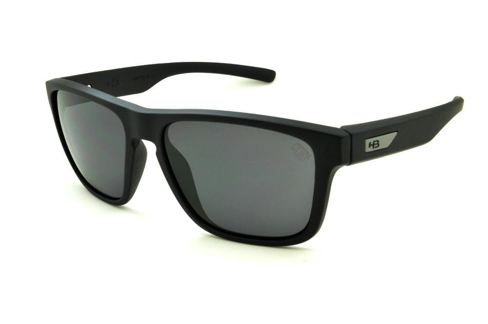 ce43e9220c669 Óculos HB H-BOMB Matte Black preto fosco lente cinza