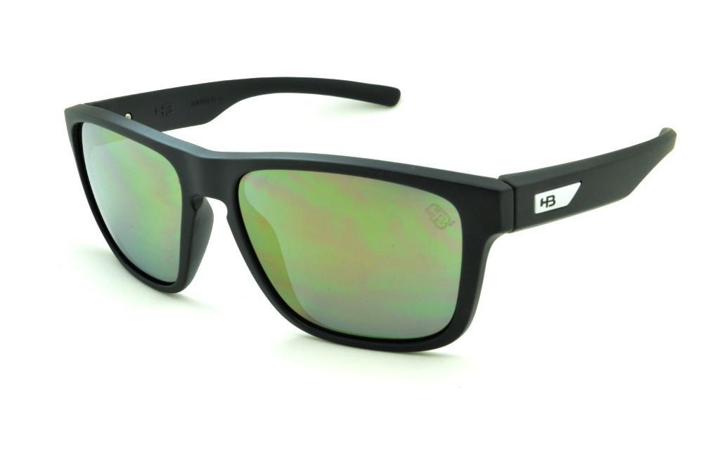 5aab7fc1e6a35 Óculos HB H-BOMB preto fosco e lente espelhada Edição Especial Miguel Pupo