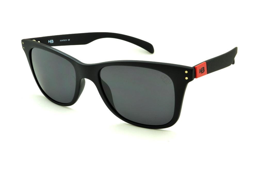 Óculos HB Land Shark 2 Matte Black Red preto detalhe vermelho a3d4285f2a