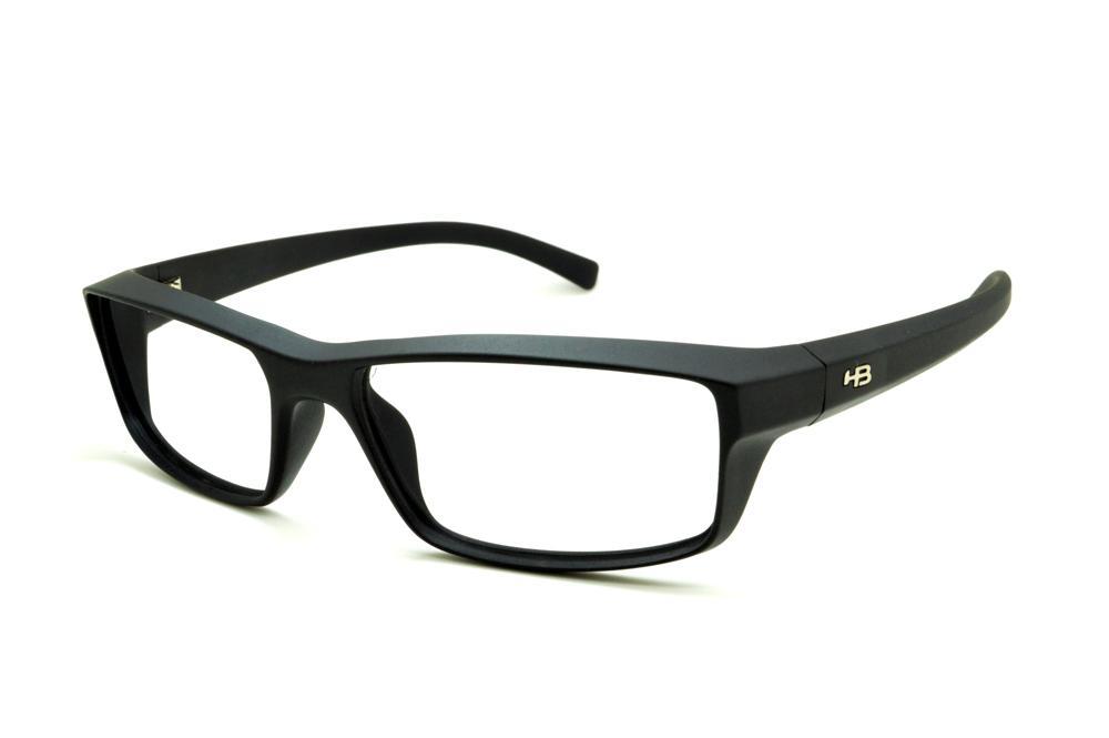 cfee76f8499cf Óculos HB Matte Black preto fosco detalhe metal