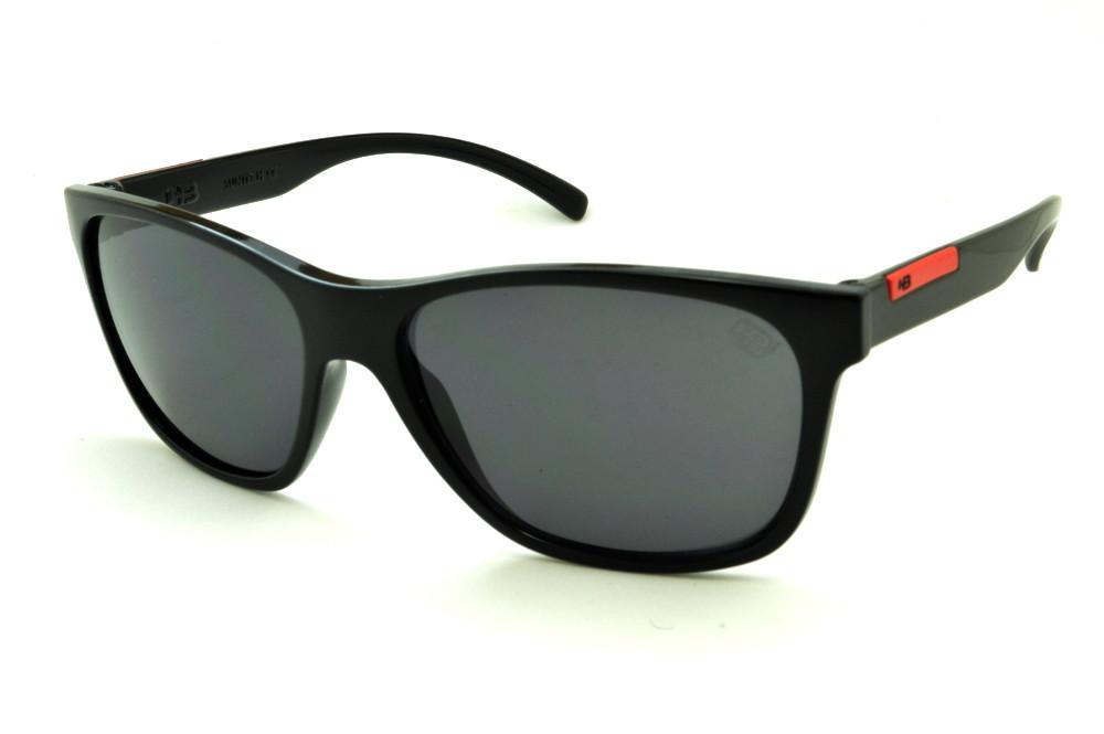 Óculos HB Underground Gloss Black Red Preto detalhe vermelho 840949e2c4