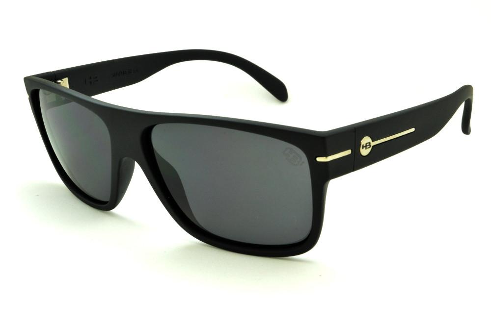 d795035c18f42 Óculos HB Would Matte Black preto fosco e lente cinza