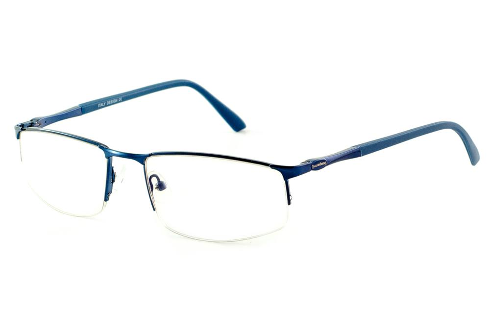 b7d9d2cebf877 Óculos Ilusion J00577 azul royal haste azul metálico