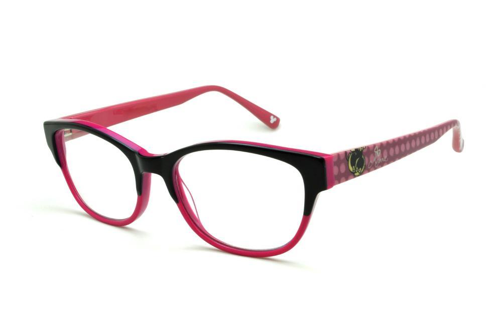 Óculos Disney preto e pink e haste desenhos rosê e1235a596e