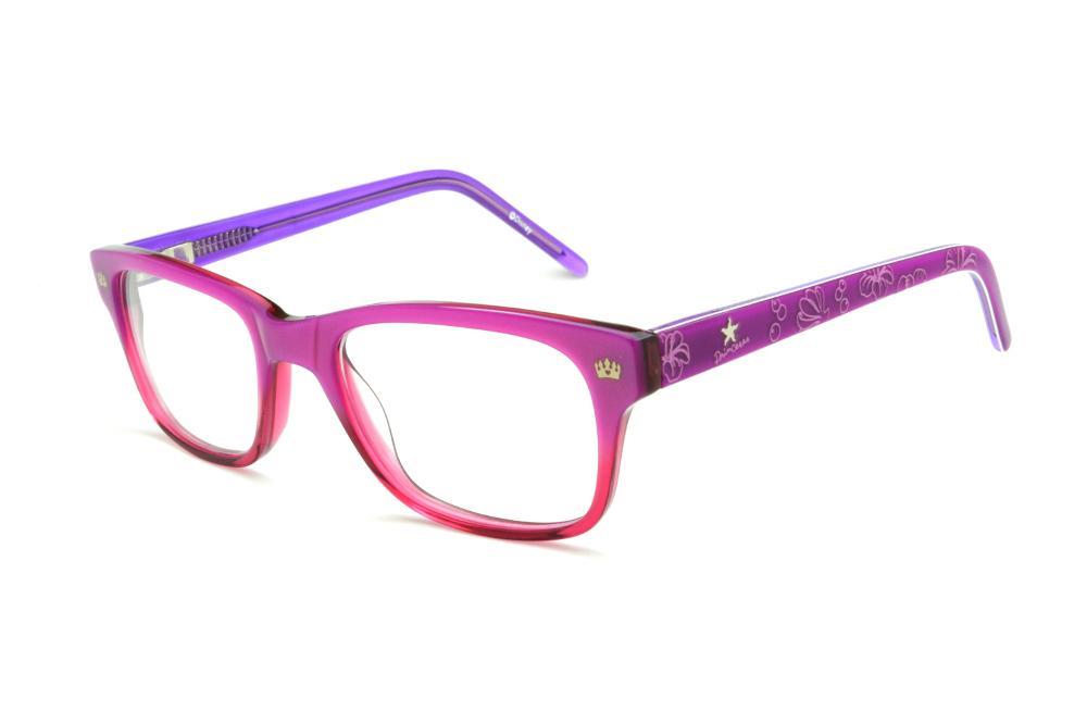 d149c88b768d5 Óculos Disney Princesa acetato roxo e pink mesclado