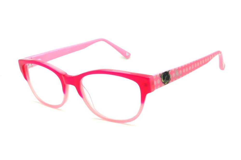 Óculos Disney vermelho e rosa bebê haste desenhada rosa bebê 55487f66f4