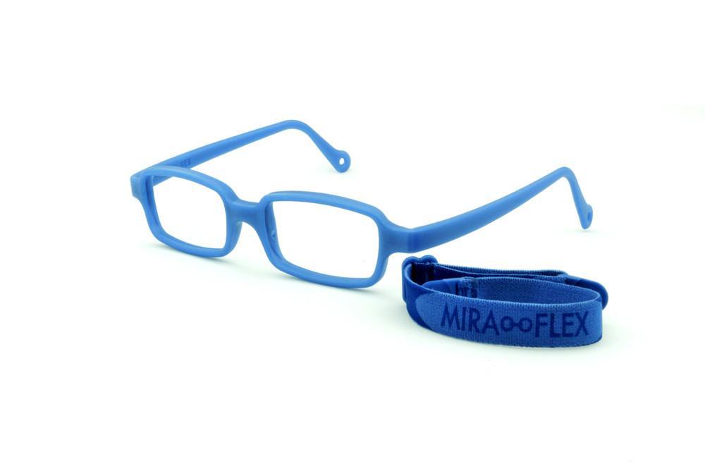 e028ea14c Óculos Infantil Miraflex Azul em silicone INQUEBRÁVEL New Baby 1 39/14 (de  1 a 4 anos)