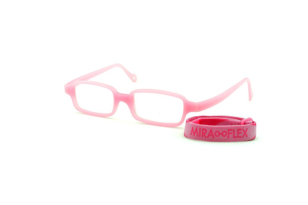 90e49107a Óculos Infantil Miraflex Rosa em silicone New Baby 1 39/14 (de 1 a 4 anos)