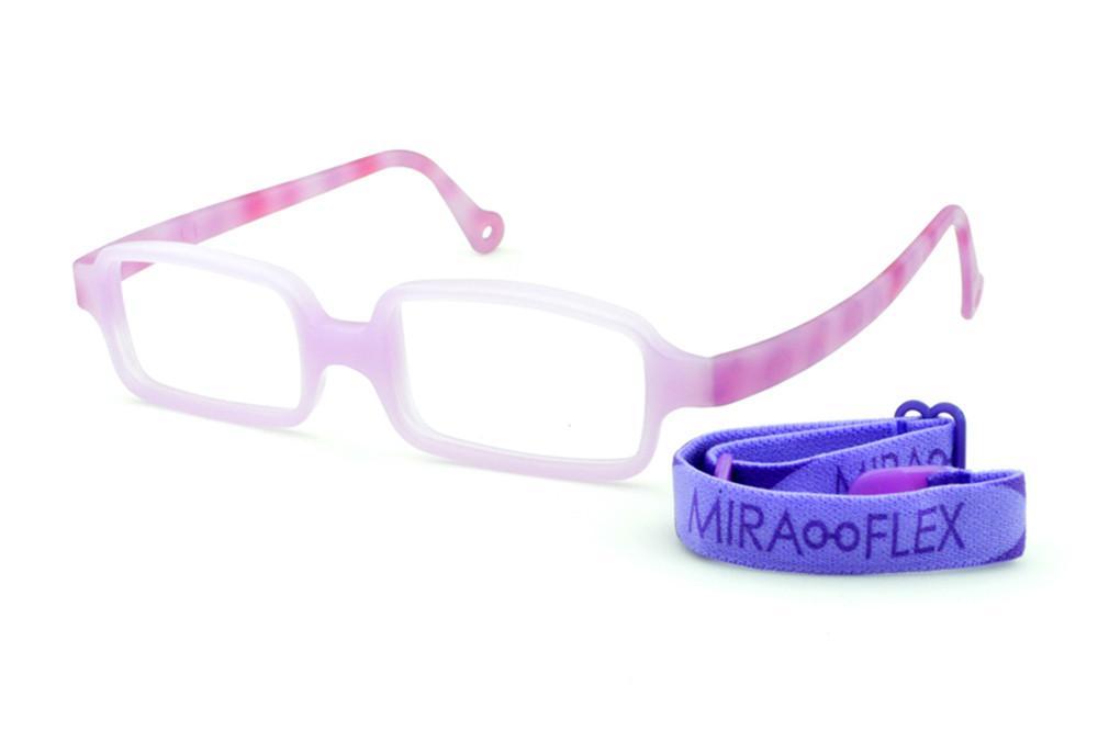 5e987710f22ef Óculos Miraflex Siliconado INQUEBRÁVEL New Baby 3 45 17 Lilás