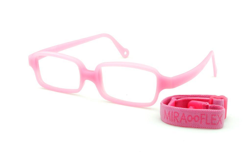 a9e8fa1914bf9 Óculos Miraflex Siliconado INQUEBRÁVEL New Baby 3 45 17 Rosa (de 6 a 10  anos)