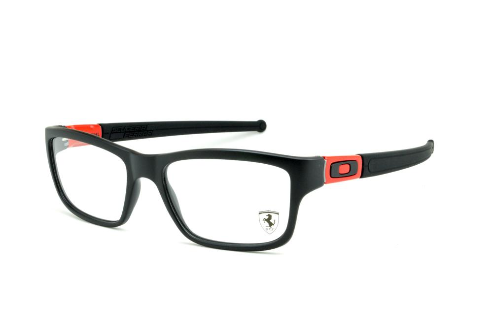 f424bc1392d89 Óculos Oakley OX8034 Marshal preto fosco e vermelho EDIÇÃO FERRARI