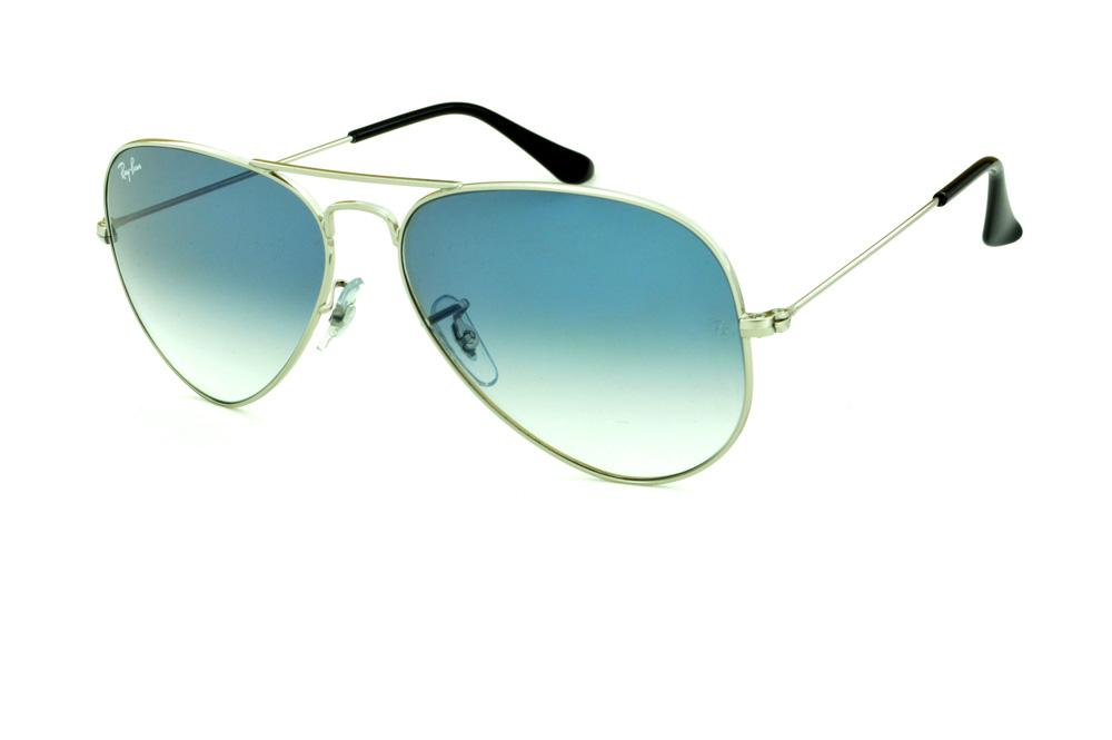 oculos ray ban lente azul degrade