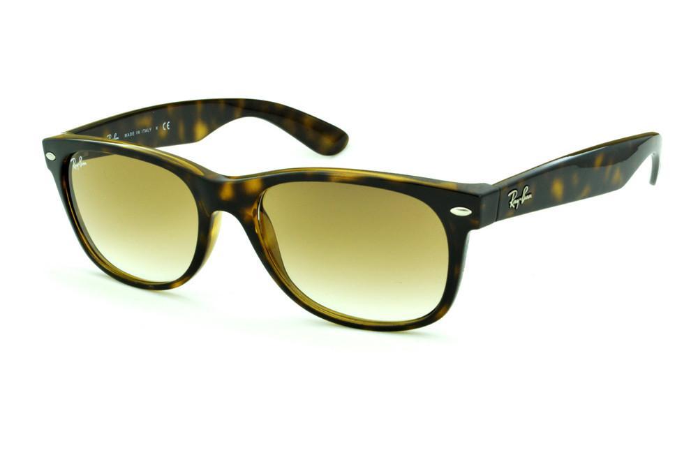 43e44f612 Óculos Ray-Ban New Wayfarer RB2132 onça tartaruga e lente degradê