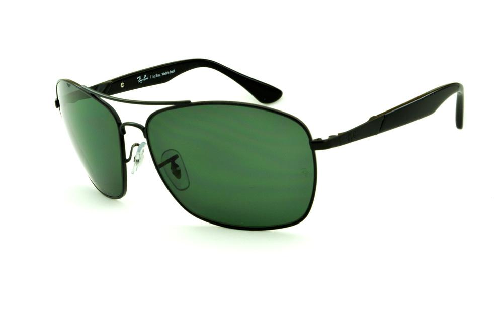 1e9a939df49a0 Óculos Ray-Ban RB3531 de sol preto lente verde