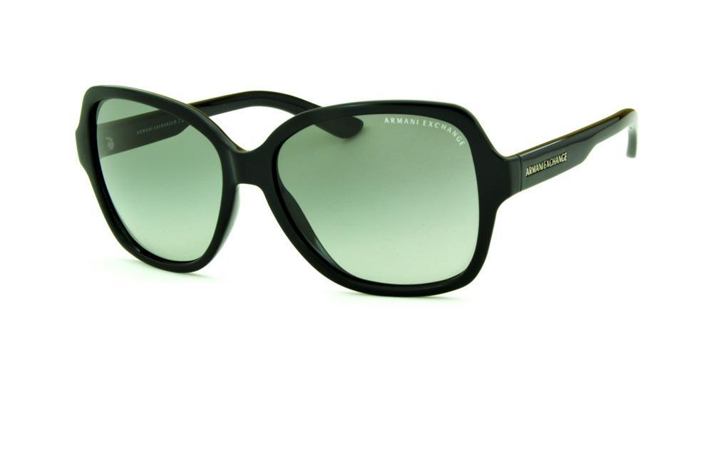 Óculos de Sol Armani Exchange AX 4029S preto lente cinza degradê 2fa6a2d2ae