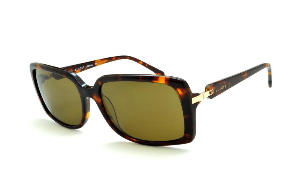 be10818dc Óculos de Sol Bulget cor demi/tartaruga efeito onça e detalhe dourado