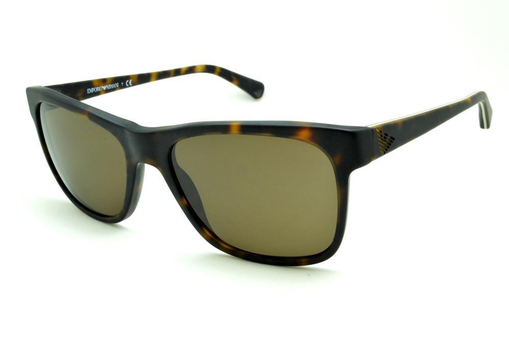 Óculos Emporio Armani EA4002 de Sol tartaruga demi efeito onça fosco 8aeac998be