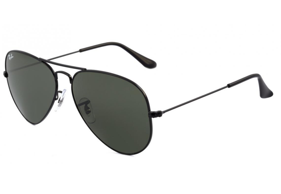 Óculos Ray-Ban Aviador RB3025 preto lente preta e0bf5e68f4