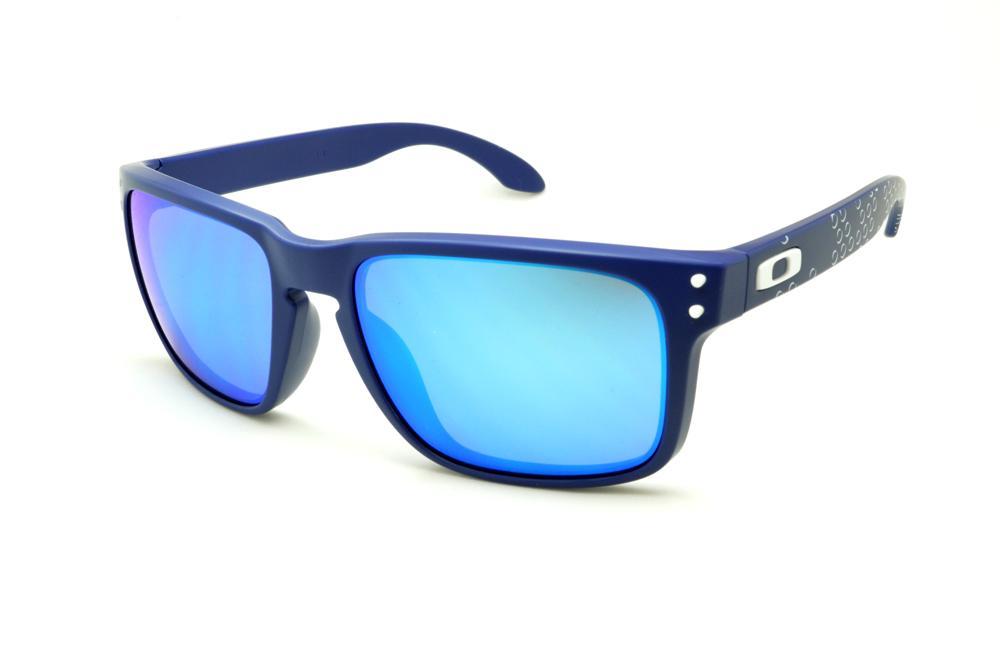 f32f934345 Óculos Oakley OO9102 Holbrook azul bolha branca